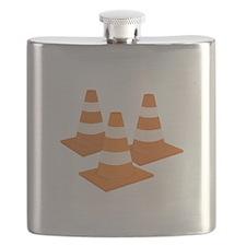 Traffic Cones Flask