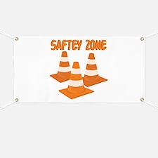 Safety Zone Banner