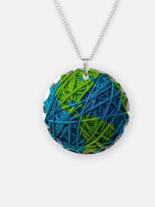 Unique Earth day Necklace