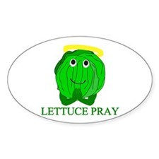 Lettuce Pray Decal