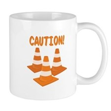 Caution Mugs