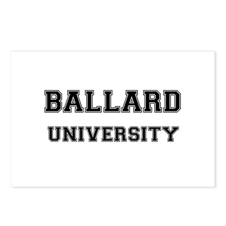BALLARD UNIVERSITY Postcards (Package of 8)