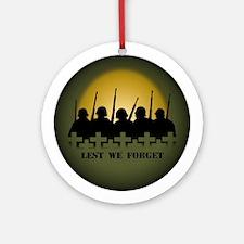 Fallen Soldiers Ornament War Memorial Keepsakes