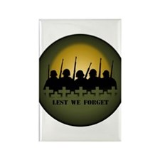 Remembrance Day Rectangle Magnet