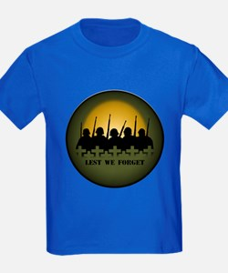Memorial Day Kids T-Shirt Remembrance Day T-shirt