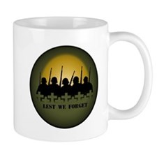 Remembrance Day Mug Lest We Forget Memorial Gift