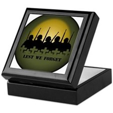 Soldiers Tribute Keepsake Box War & Peace Gift