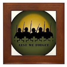 Remembrance Day Framed Tile