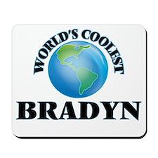 World's Coolest Bradyn Mousepad