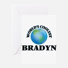 World's Coolest Bradyn Greeting Cards