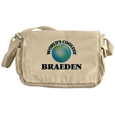 World's Coolest Braeden Messenger Bag