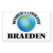 World's Coolest Braeden Decal