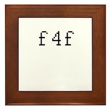 f4f Framed Tile