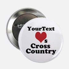 "Customize Loves Cross Country 2.25"" Button"