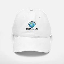World's Coolest Braiden Baseball Baseball Cap