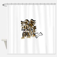 Chewie Shower Curtain