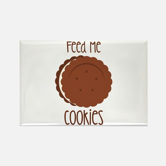 Feed Me Cookies Magnets