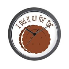 All for the Cookies Wall Clock