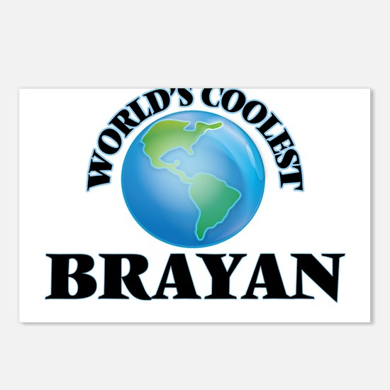 World's Coolest Brayan Postcards (Package of 8)