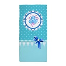 Lace work Beach Towel