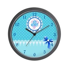 Lace work Wall Clock
