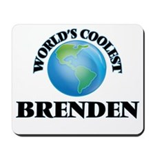 World's Coolest Brenden Mousepad