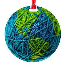 Cute Knitting Ornament