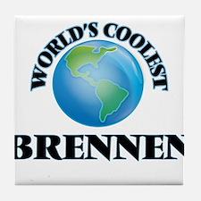 World's Coolest Brennen Tile Coaster