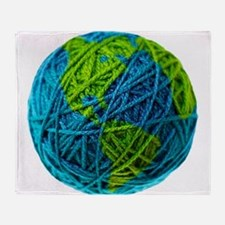 Unique Knitting Throw Blanket