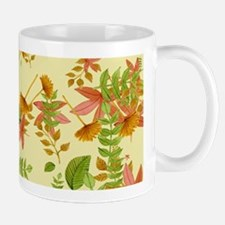 Vintage Autumn foliage Mugs
