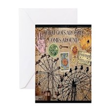 Around Card Greeting Cards