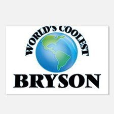 World's Coolest Bryson Postcards (Package of 8)