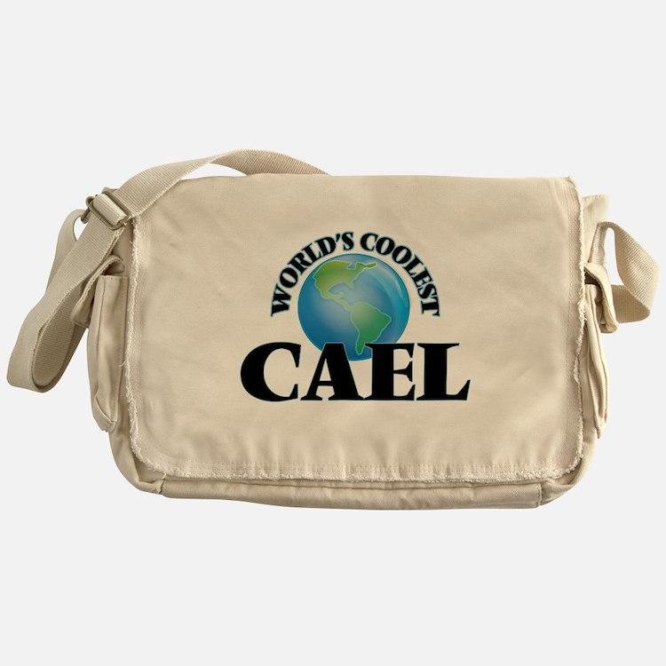 World's Coolest Cael Messenger Bag
