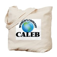 World's Coolest Caleb Tote Bag
