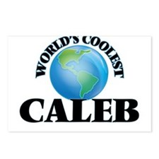 World's Coolest Caleb Postcards (Package of 8)
