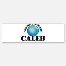 World's Coolest Caleb Bumper Bumper Bumper Sticker