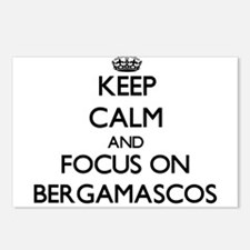 Keep calm and focus on Be Postcards (Package of 8)
