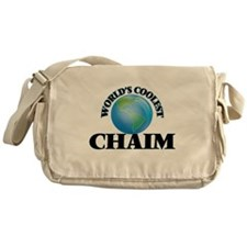 World's Coolest Chaim Messenger Bag