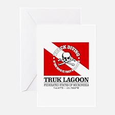 Truk Lagoon Greeting Cards