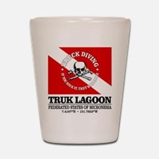 Truk Lagoon Shot Glass
