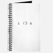 i <3 u Journal