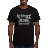 40th birthday Fitted T-shirts (Dark)