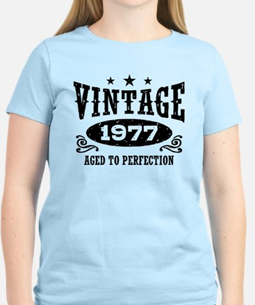 Vintage 1977 Women's Light T-Shirt