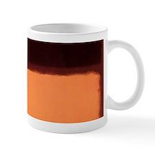 ROTHKO BROWN AND PEACH Mugs
