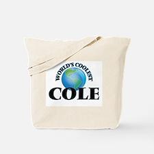 World's Coolest Cole Tote Bag