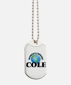 World's Coolest Cole Dog Tags