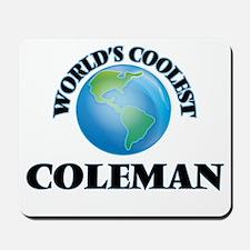 World's Coolest Coleman Mousepad