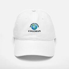World's Coolest Coleman Baseball Baseball Cap