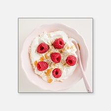 "Healthy breakfast Square Sticker 3"" x 3"""