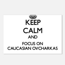 Keep calm and focus on Ca Postcards (Package of 8)